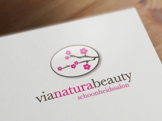 Logotypes: Via Natura Beauty